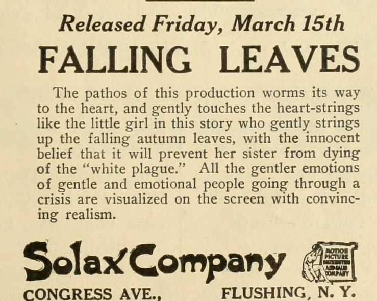 alice guy falling leaves