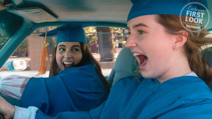 BOOKSMART Beanie Feldstein stars as Molly and Kaitlyn Dever as Amy